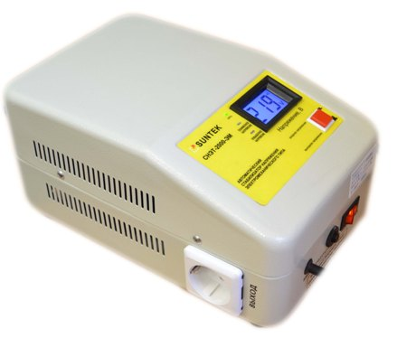 Электромеханический стабилизатор напряжения SUNTEK 2000ВА ЭМ